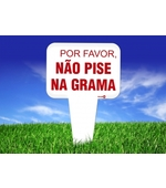 Placa Sin.por Favor Nao Pise Na Grama Ps177