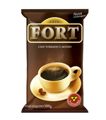 Cafe Fort Tradicional 500g Vacuo 3 Coracoes